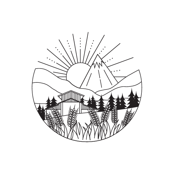 Lane Creek Reserve logo black