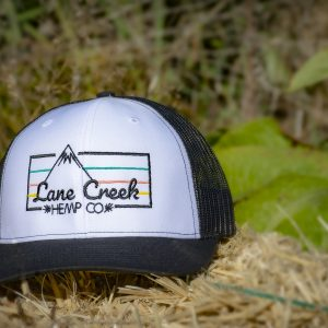 Lane-Creek-hemp-co-rain-cloud-trucker-hat-merchandise